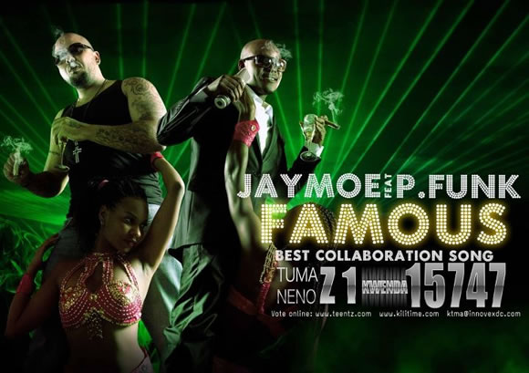 Vote for Famous, Jay Moe ft P-funk