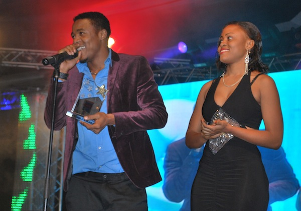 Ali Kiba thanking the voters for giving him his first Kili Tanzania Music Award ever