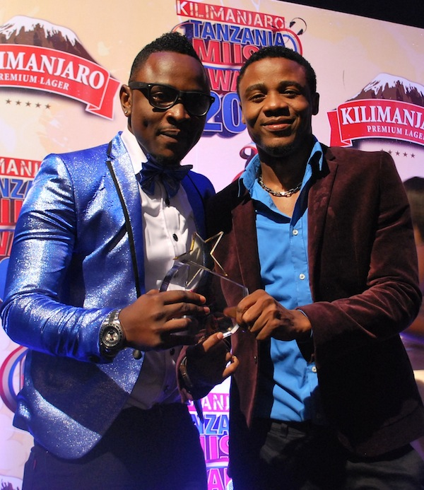 Ali Kiba and Ommy Dimpoz