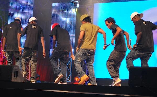 TMK Wanaume on stage