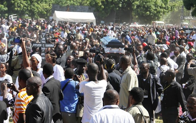 More than 20 thousand showed their affection and love for the late Steven Kanumba