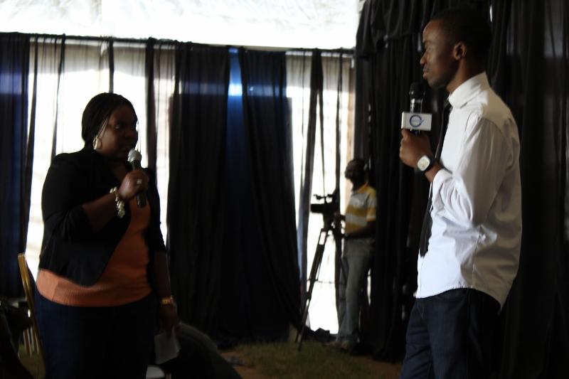 Millard na Barbra ndo walikuwa  wakiongoza uzinduzi huo wa Fiesta 2012