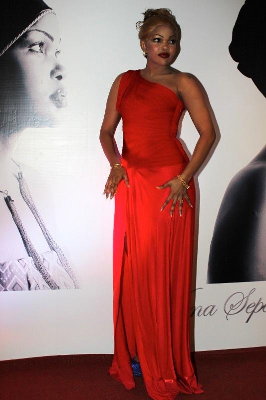 Wema Akiwasili Red Carpet