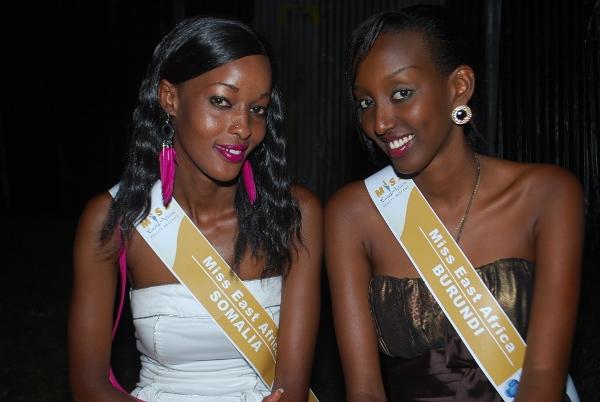 Warembo wa Miss East Africa.