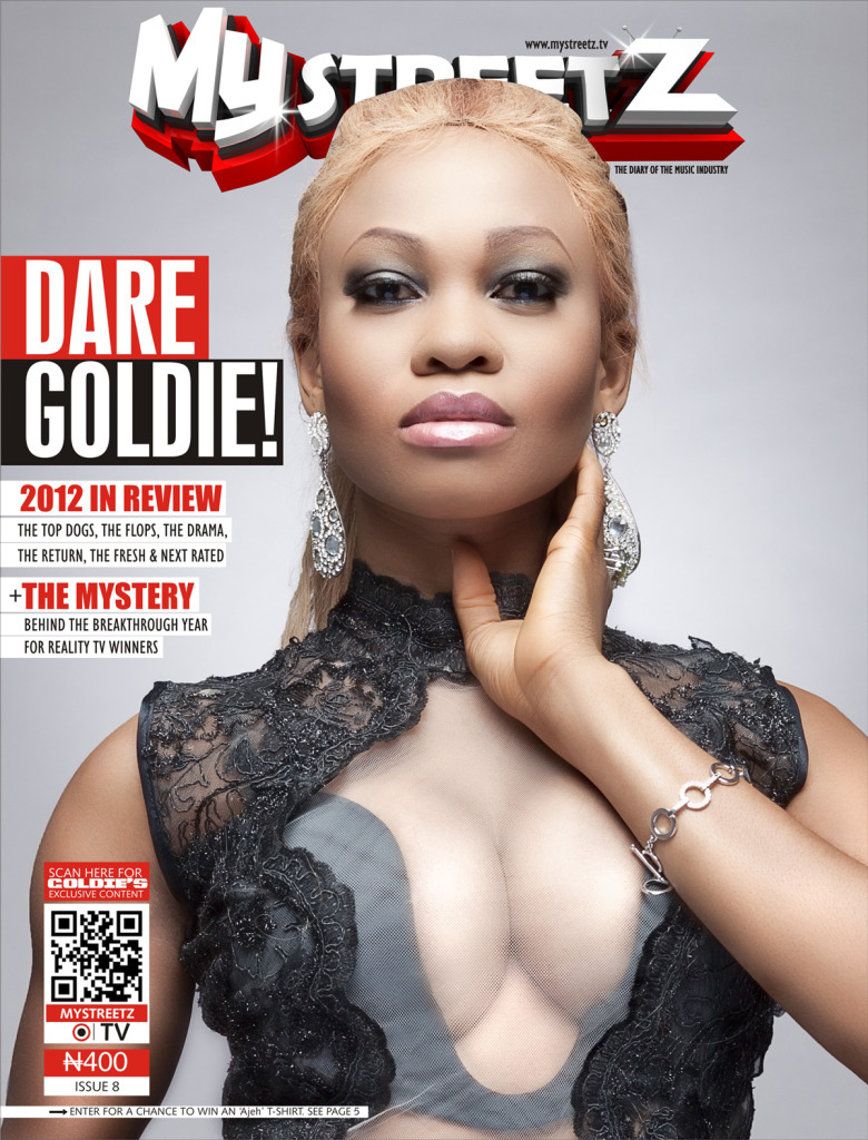Goldie-mystreetzmag-Cover