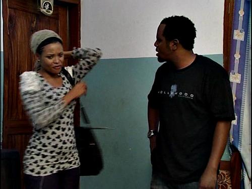 Picha za scenes za movie ya mwisho ya Kanumba 'Love and Power'