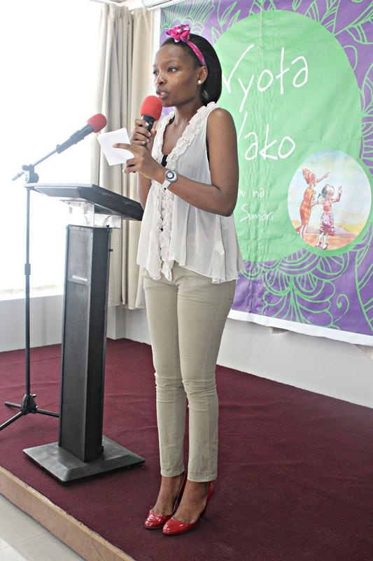 MC wa uzinduzi huo Rebeca Gyumi