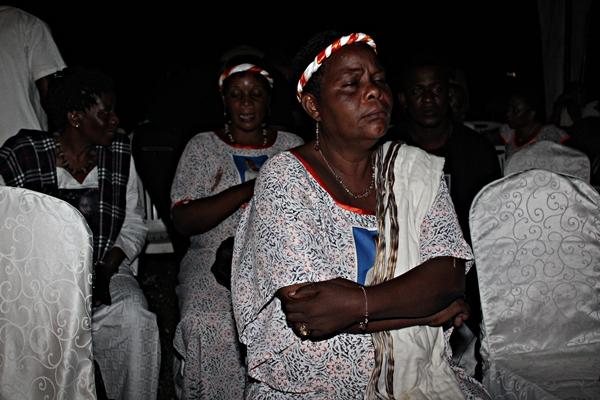 Mama Kanumba akifikiria jambo
