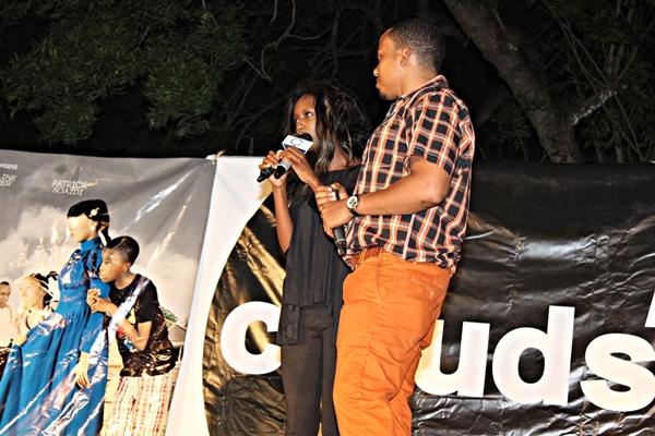 Watangazaji wa Clouds TV, Zamaradi Mketema na Benny Kinyaiya