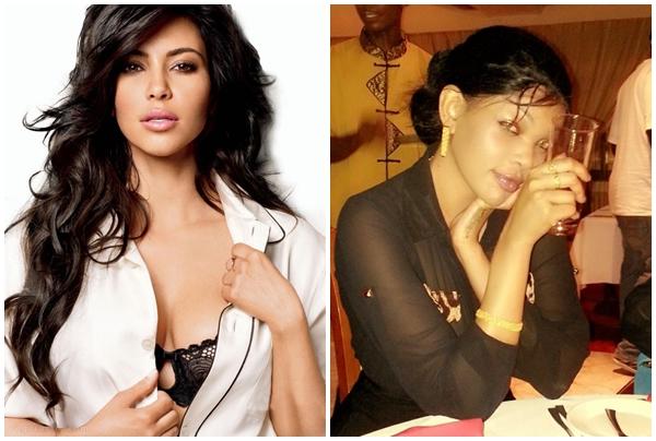 Wema akanusha kujifananisha na Kim Kardashian 'she is my role model