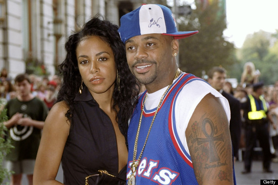 R&B singer Aaliyah and hip-hop mogul Damon Dash are on hand