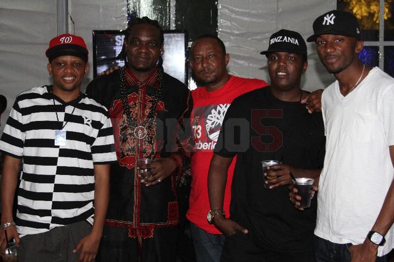 Mwana FA, Fid Q, AY, Arthur na mshikaji