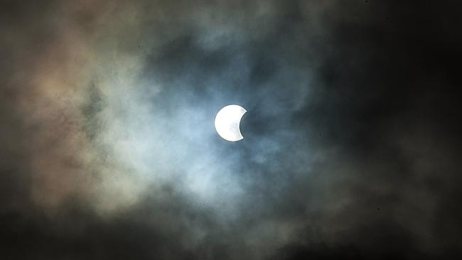 Spain Solar Eclipse