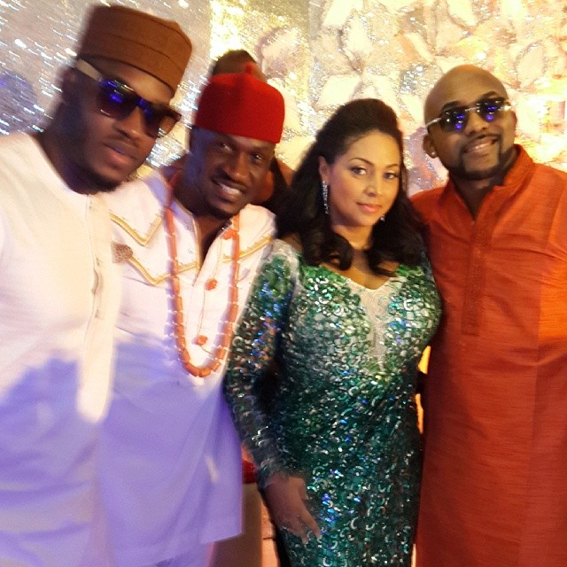 Lynxxx, Banky and Pater n wife