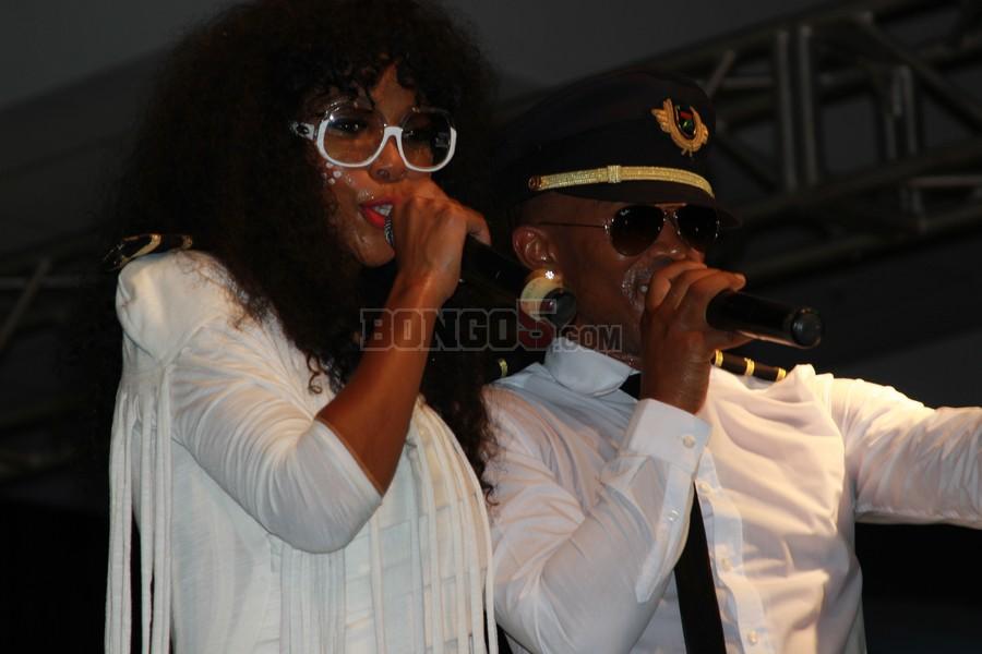 Theo Kgosinkwe and Nhlanhla Nciza