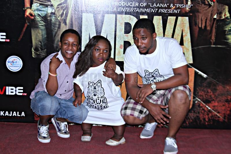 Picha: Filamu ya 'Mbwa Mwitu' ya Kajala yazinduliwa Mlimani City