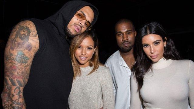 Kim Kardashian akataa kupiga picha na mpenzi wa Chris Brown, Karrueche Tran