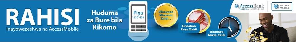 RAHISI - Inayowezeshwa na AccessMobile