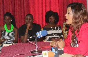 Jaji mkuu wa shindano la BSS 2015,  Madam Rita Paulsen