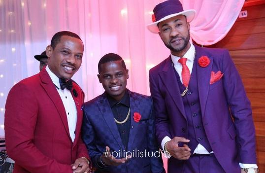 Dk Cheni, MC Pilipili pamoja na Emmanuel Mbasha