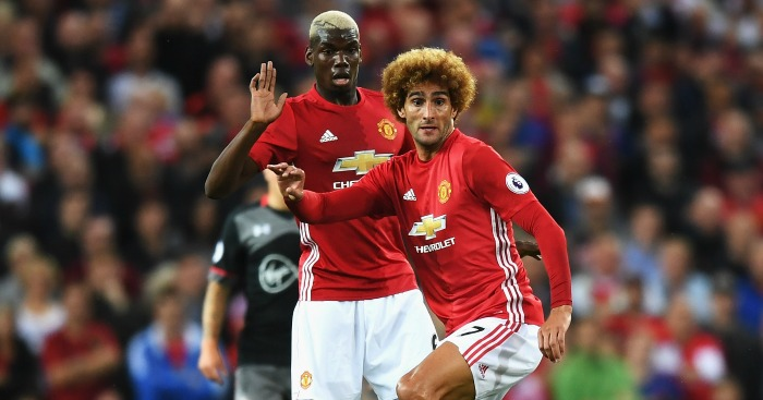 during the Premier League match between Manchester United and Southampton at Old Trafford on August 19, 2016 in Manchester, England.